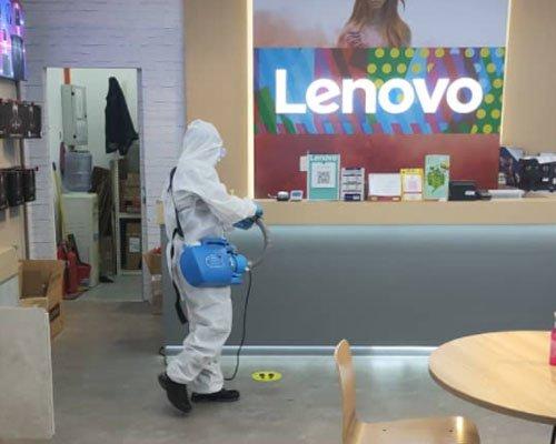 sanitization services : lenovo